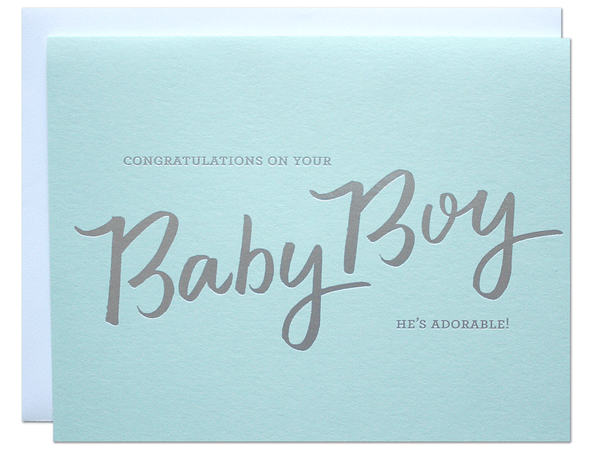 Baby Boy Card | Parrott Design Studio