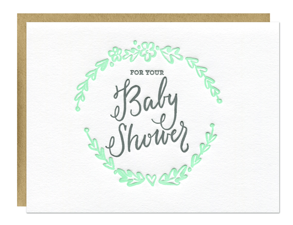 Baby Shower Card | Parrott Design Studio