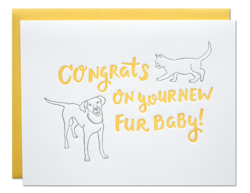 Fur Baby Card