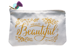 PREORDER: Hello Beautiful Pouch