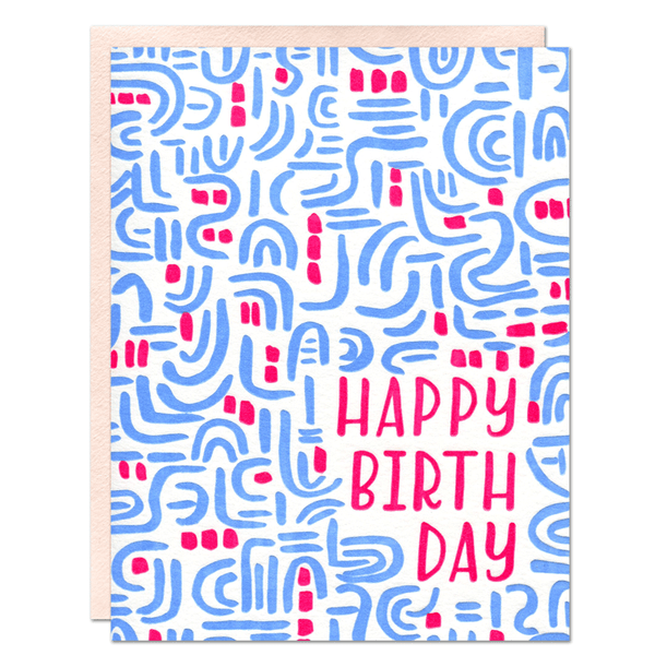 Birthday Pattern Card