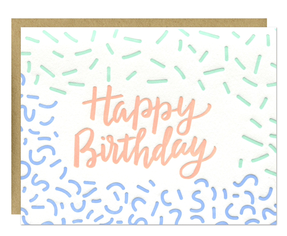 Birthday Sprinkles Card