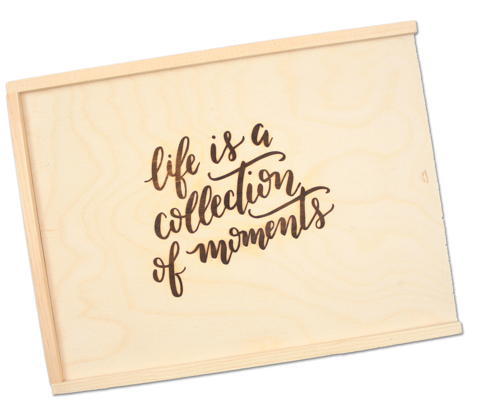 Life is a Collection of Moments Keepsake Box