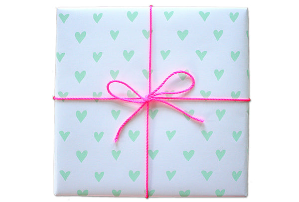 Cheerful Hearts Wrapping Sheets