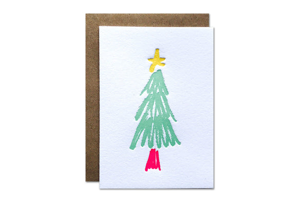 Christmas Tree Enclosure Card