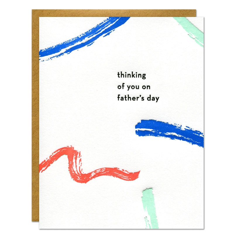 Thinking of You on Father's Day Card