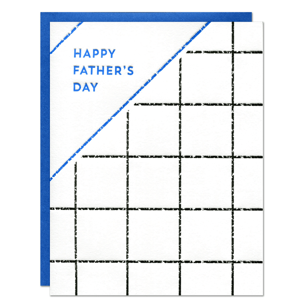 Father's Day Grid Card