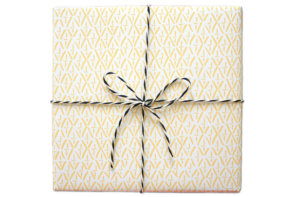 Brush Diamonds Wrapping Sheets | Parrott Design Studio