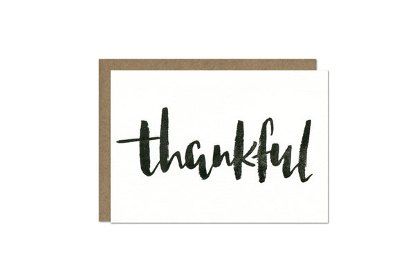 Thankful Enclosure Card