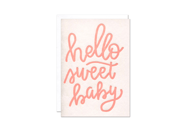 Sweet Baby Girl Enclosure Card