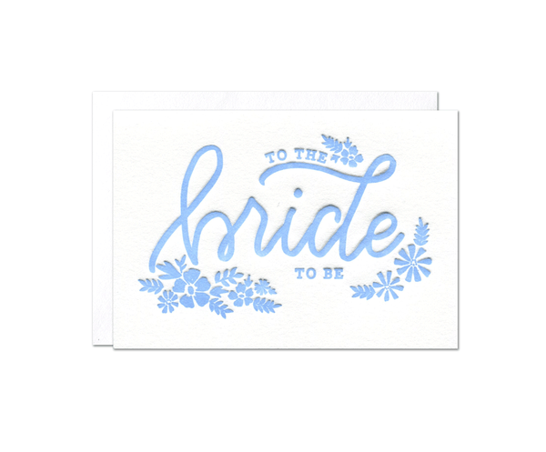 Bride-to-Be Enclosure Card