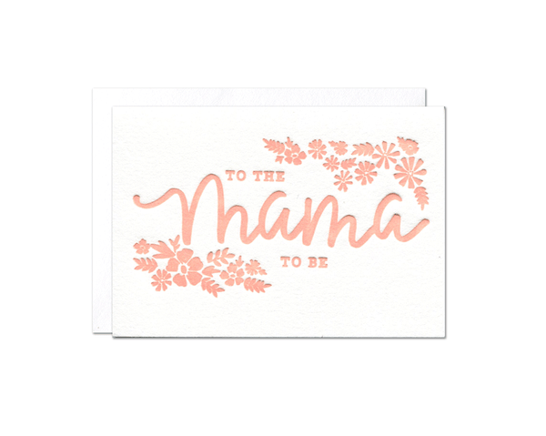 Mama-to-Be Enclosure Card