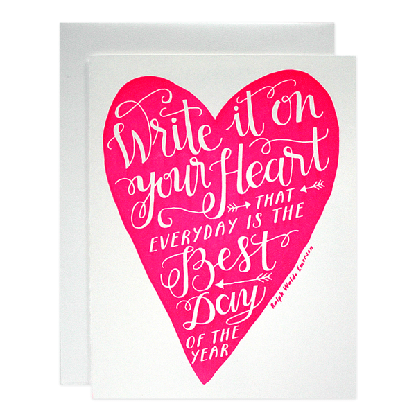 Heart Card | Parrott Design Studio