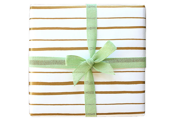 Happy Stripe Wrapping Sheets | Parrott Design Studio