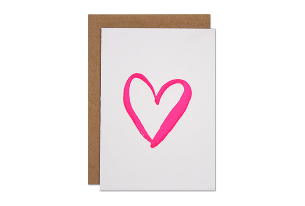 Heart Enclosure Card | Parrott Design Studio