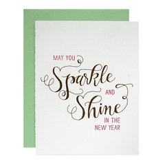 Sparkle & Shine Card
