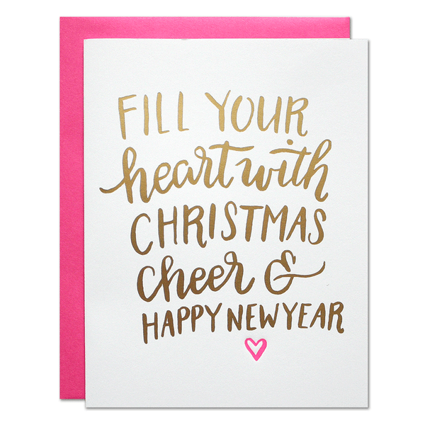 Christmas Cheer Card | Parrott Design Studio