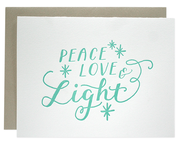 Peace & Light Holiday Card | Parrott Design Studio