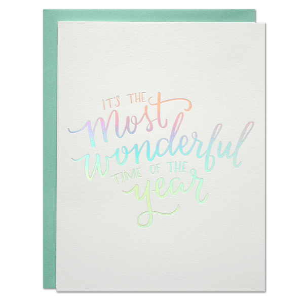 Wonderful Time of the Year Card | Parrott Design Studio