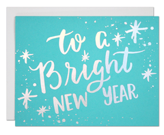 Bright New Year Card