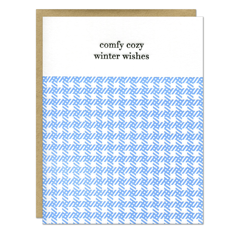 Cozy Winter Wishes Holiday Card