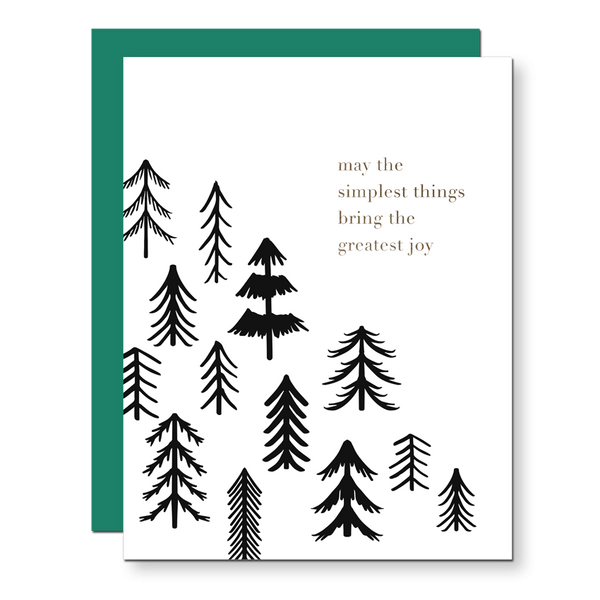 Simple Things Holiday Card