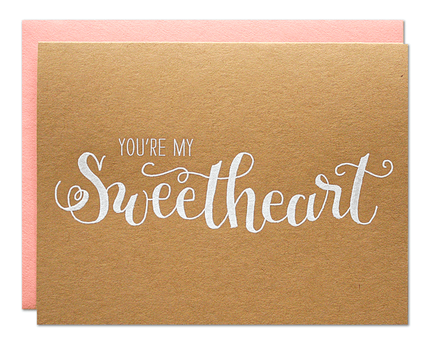Sweetheart Card | Parrott Design Studio