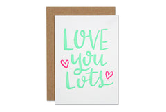 Love You Lots Enclosure Card