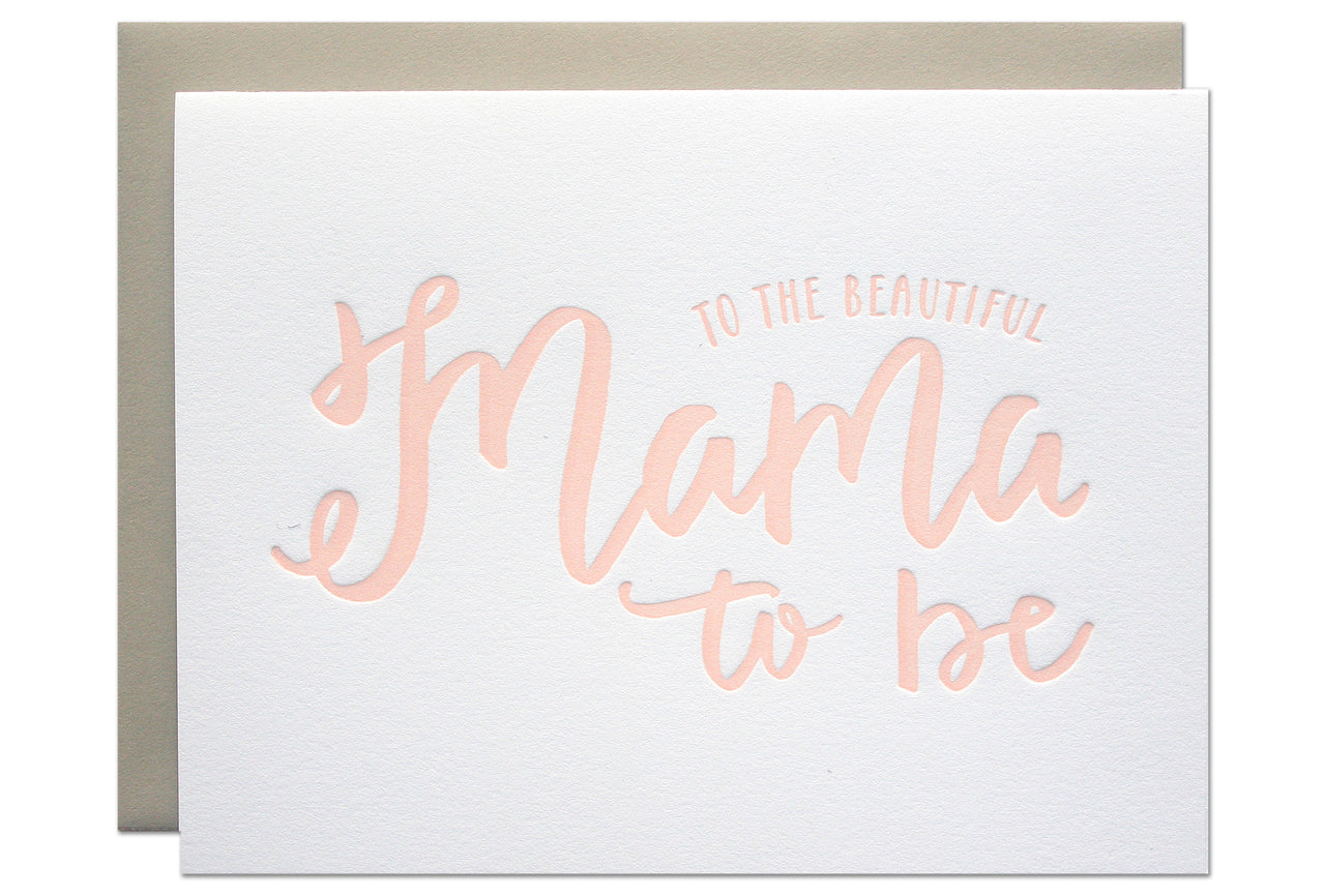 Mama to Be Card