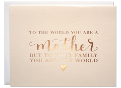 The World - Mother Card