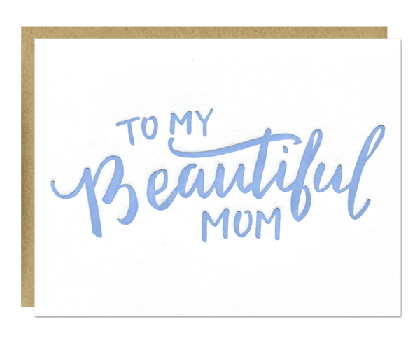 Beautiful Mom Card
