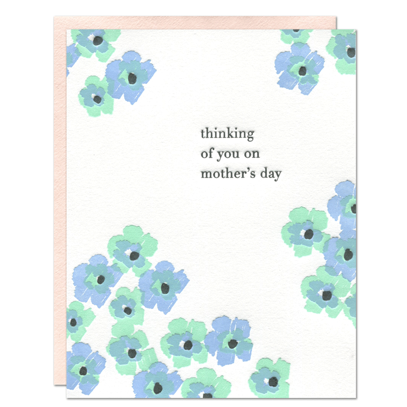 Thinking of You on Mother's Day Card