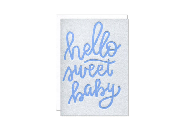 Sweet Baby Boy Enclosure Card