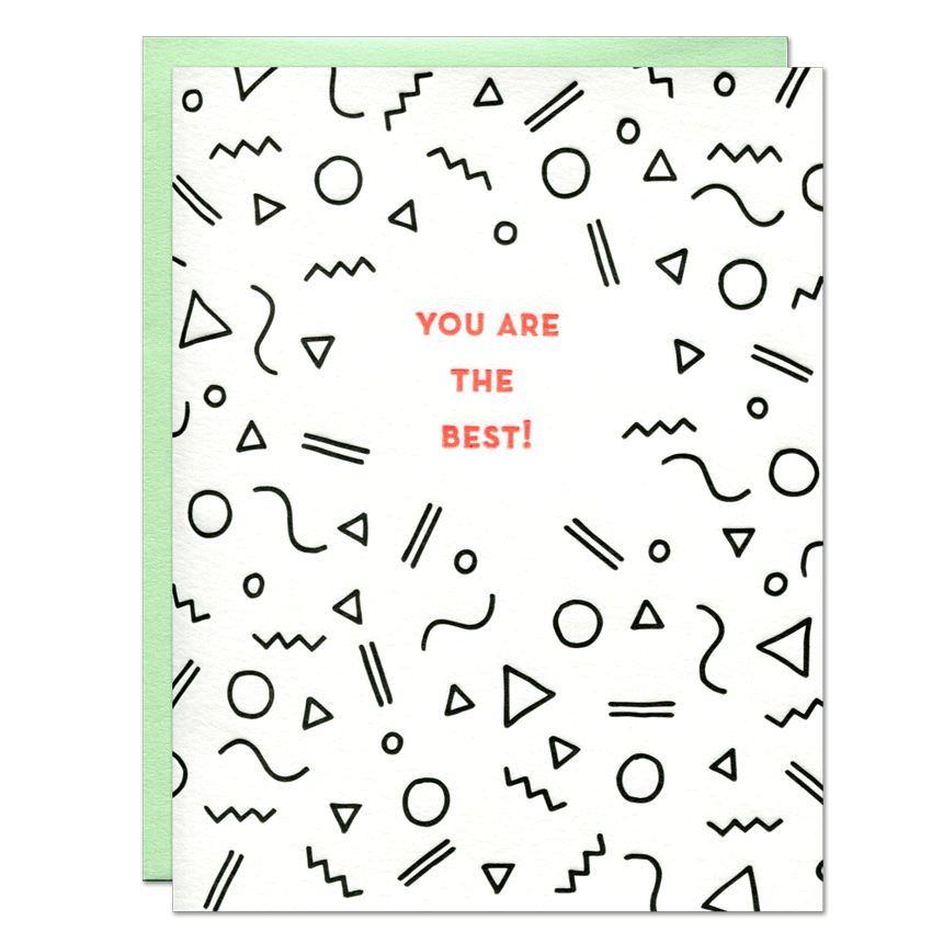 You Are the Best! Card