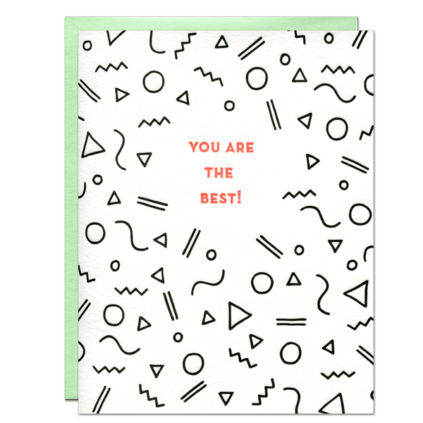 You Are the Best! Card | Parrott Design Studio