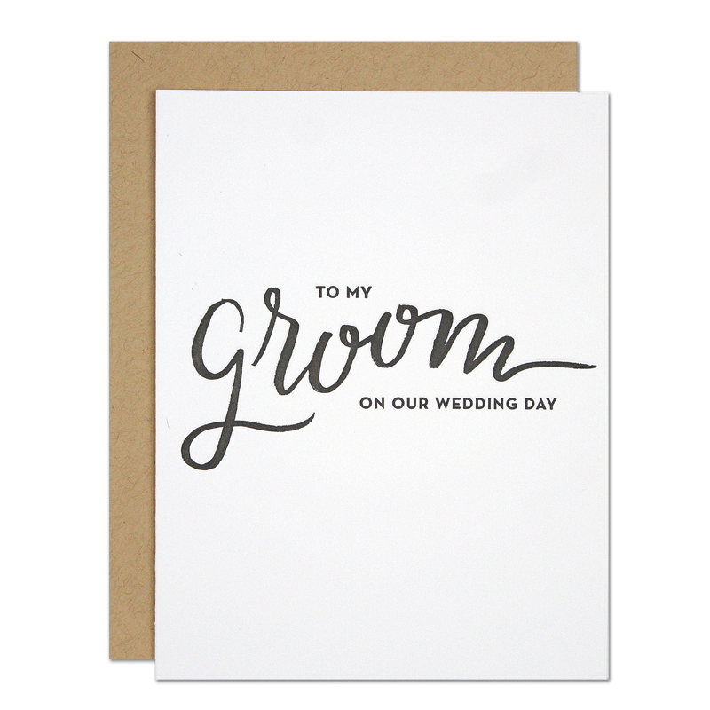 My Groom Card