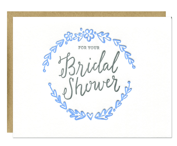 Bridal Shower Card | Parrott Design Studio