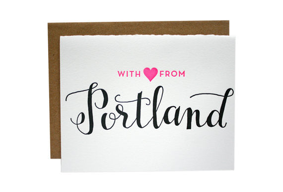 With Love From... | Parrott Design Studio