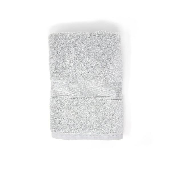 Small grey hand towel