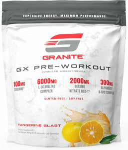 GX Pre-workout By Granite Supplements