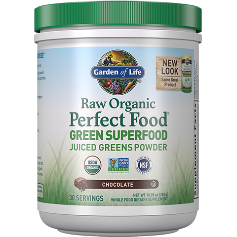 Raw Organic Perfect Food (Superfood Greens Powder) - PNC Maine