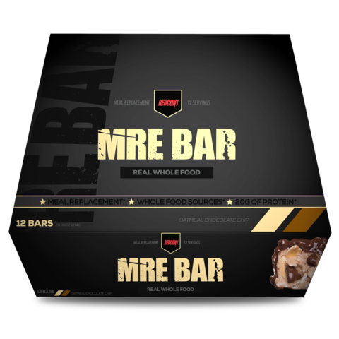 MRE Meal Replacement Bar (1 Box / 12 Bars) - PNC Maine