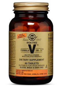 Iron Free Formula VM-75 60ct - PNC Maine