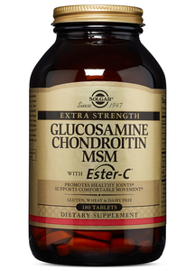Extra Strength Glucosamine Chondroitin MSM with Ester-C 180ct - PNC Maine