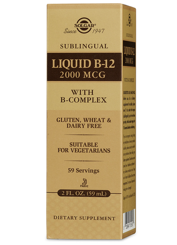 Sublingual Liquid B-12 - PNC Maine