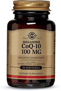 CoQ-10 100MG 60ct - PNC Maine
