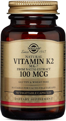 Vitamin K2 100 MCG 50ct - PNC Maine
