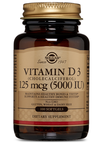 Vitamin D3 5000 IU 100ct - PNC Maine