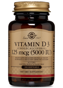 Vitamin D3 5000 IU 100ct