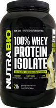 Load image into Gallery viewer, 100% Whey Protein Isolate 2lb - PNC Maine
